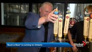 Proposed buck-a-beer policy not popular with Ontario craft breweries